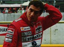 Ayrton Senna Is The Immortal Star In The Formula One History.
